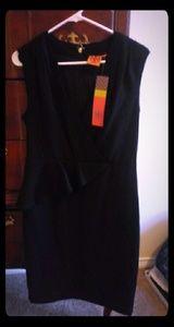 Tory Burch NWT black brooklyn dress